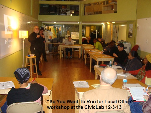 You Can Run For Local Office…