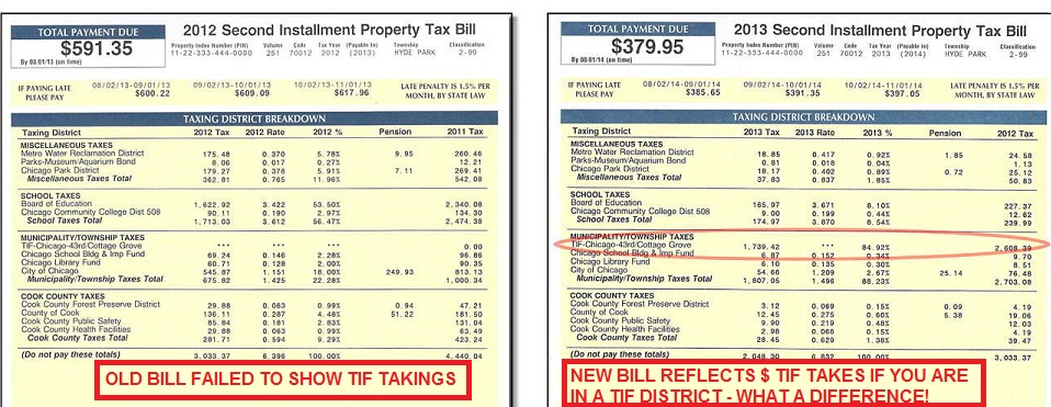 tax bill example